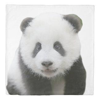 Panda Face Duvet Cover