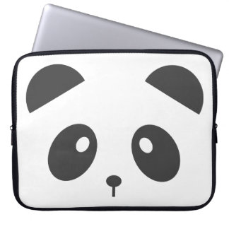 Panda Face Laptop Case