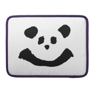 Panda Face Sleeve For MacBooks