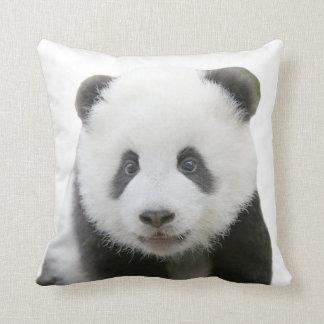 Panda Face Throw Pillow