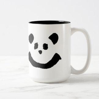 Panda Face Two-Tone Coffee Mug