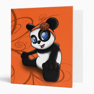 Panda Floral Avery Binder