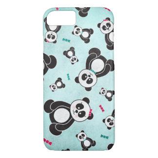Panda Freefall iPhone 7 Case