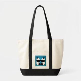 Panda Friends Tote Bag