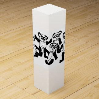 panda friends wine box