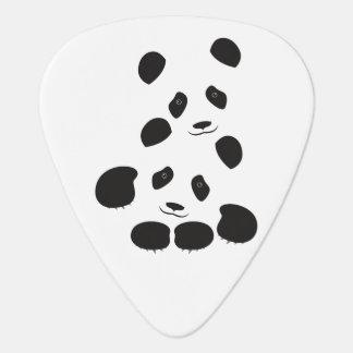 Panda Friendship Guitar Pick