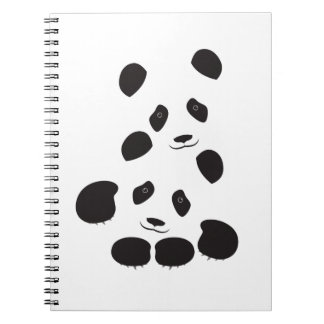 Panda Friendship Notebook