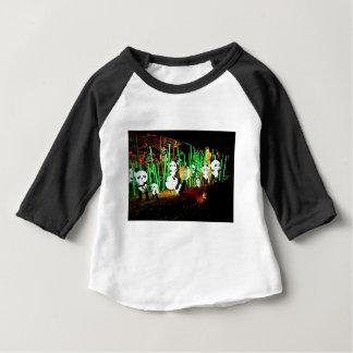 Panda Garden Light Up Night Photography Baby T-Shirt