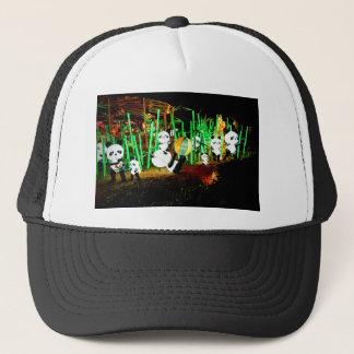 Panda Garden Light Up Night Photography Trucker Hat
