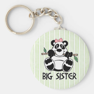 Panda Girl Big Sister Keychain