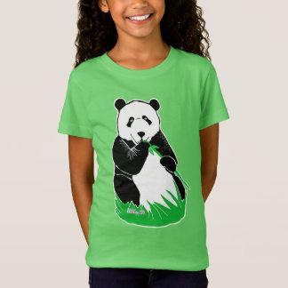 Panda Girls' Fine Jersey T-Shirt