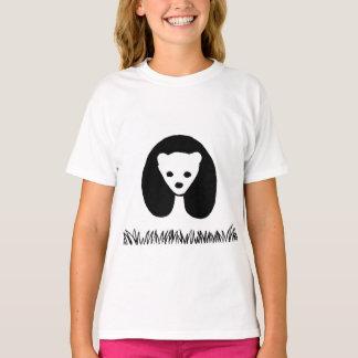 Panda girls' t-shirt