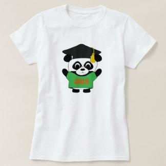 Panda Grad Wearing Green & Orange 2015 Tee