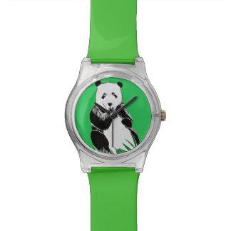 Panda Green Wristwatch