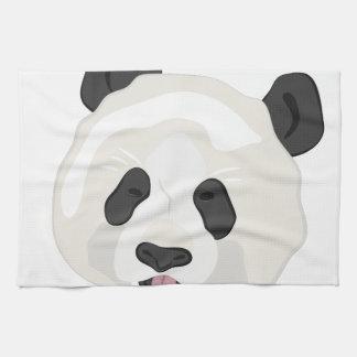 Panda Head Kitchen Towel