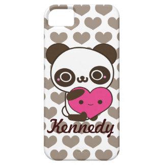 Panda Hearts iPhone 5 Cases