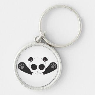 Panda Hugs Keychain