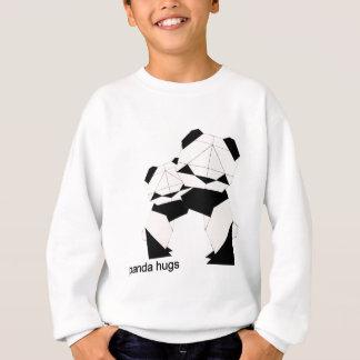 panda hugs sweatshirt