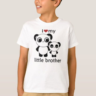 Panda - I love my litte brother T-Shirt