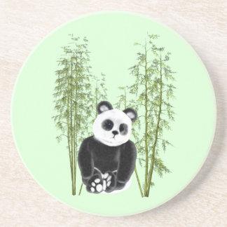 Panda In Bamboo Coaster