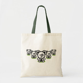 Panda Invasion Tote Bag