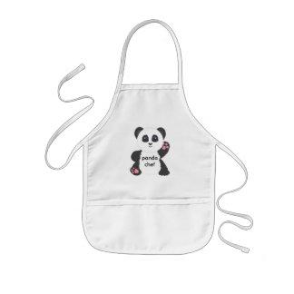 Panda kid's apron