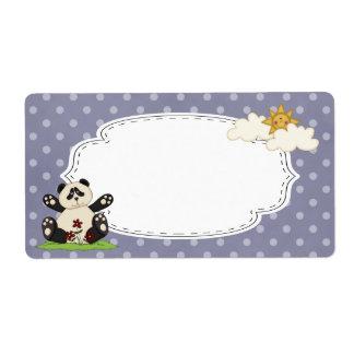 Panda Label