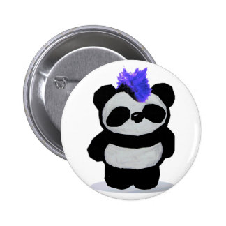 Panda Large 2010 Edition 2 Inch Round Button