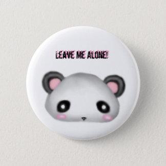 Panda - Leave me Alone! 2 Inch Round Button
