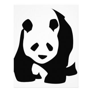 Panda Letterhead