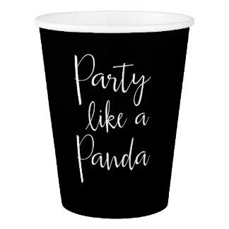 Panda Like A Panda Paper Cups Paper Cup