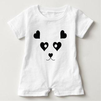PANDA LOVE BABY ROMPER