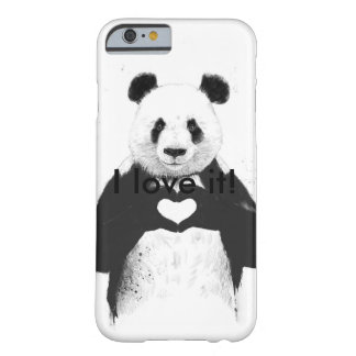 Panda love barely there iPhone 6 case