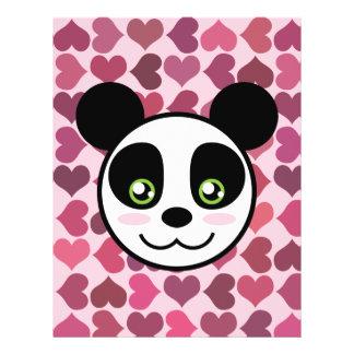 """Panda Love"" Flyer"
