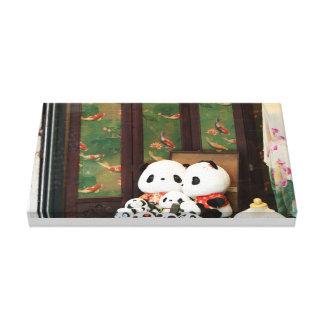Panda Love Gallery Wrap Canvas