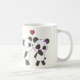 Panda Love Mugs! ^.^ Classic White Coffee Mug