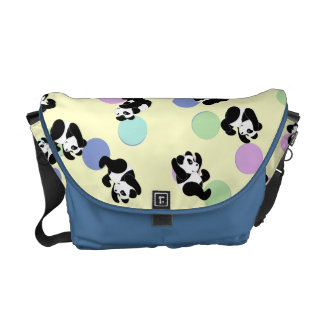 Panda Mania Baby Messenger Bag