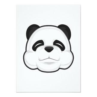 Panda mignon faire-part personnalisés