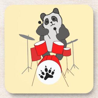 panda musician coaster