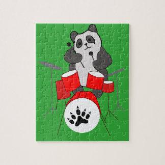 panda musician jigsaw puzzle