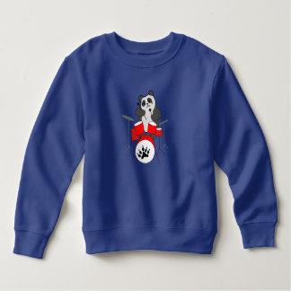 panda musician sweatshirt