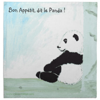 panda napkin