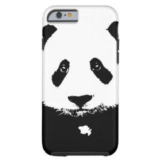 Panda noir et blanc coque iPhone 6 tough