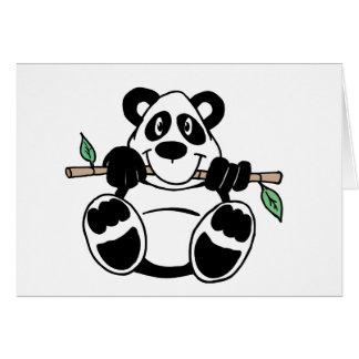 Panda Note Card