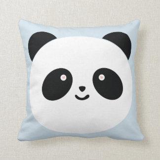 Panda one throw pillow