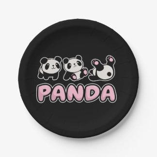 Panda Paper Plate