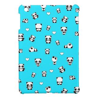 Panda pattern iPad mini case