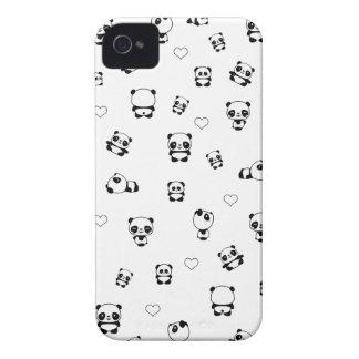 Panda pattern iPhone 4 cover