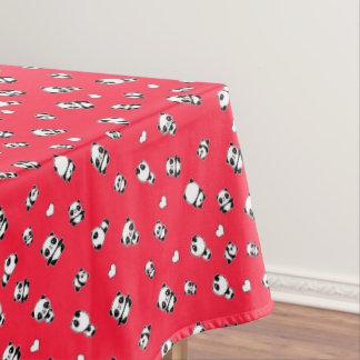 Panda pattern tablecloth