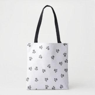 Panda Paw Tote Bag